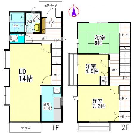 西山邸東 (2)